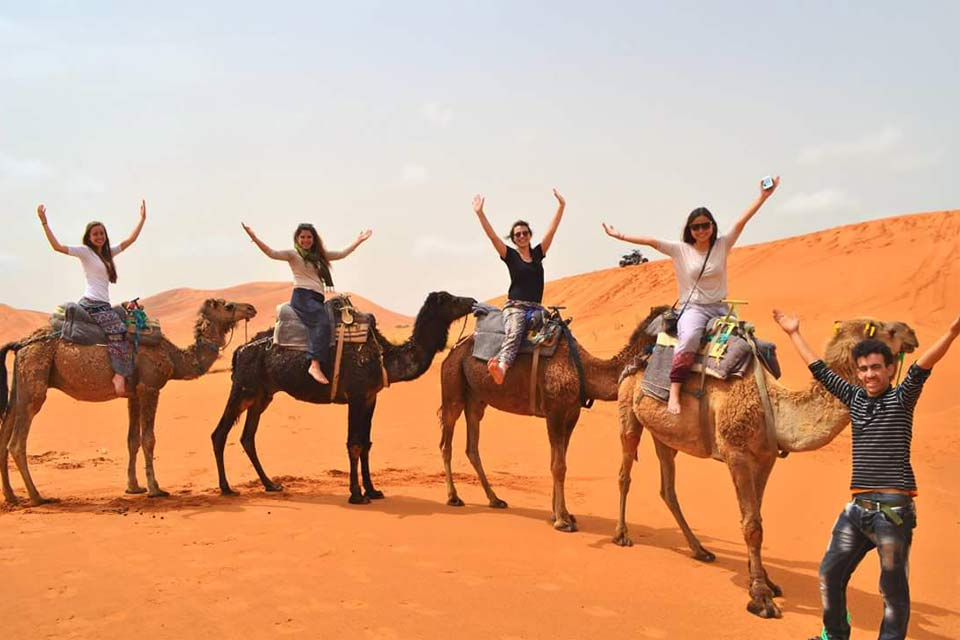Four days desert tour from Fes and back to Fes