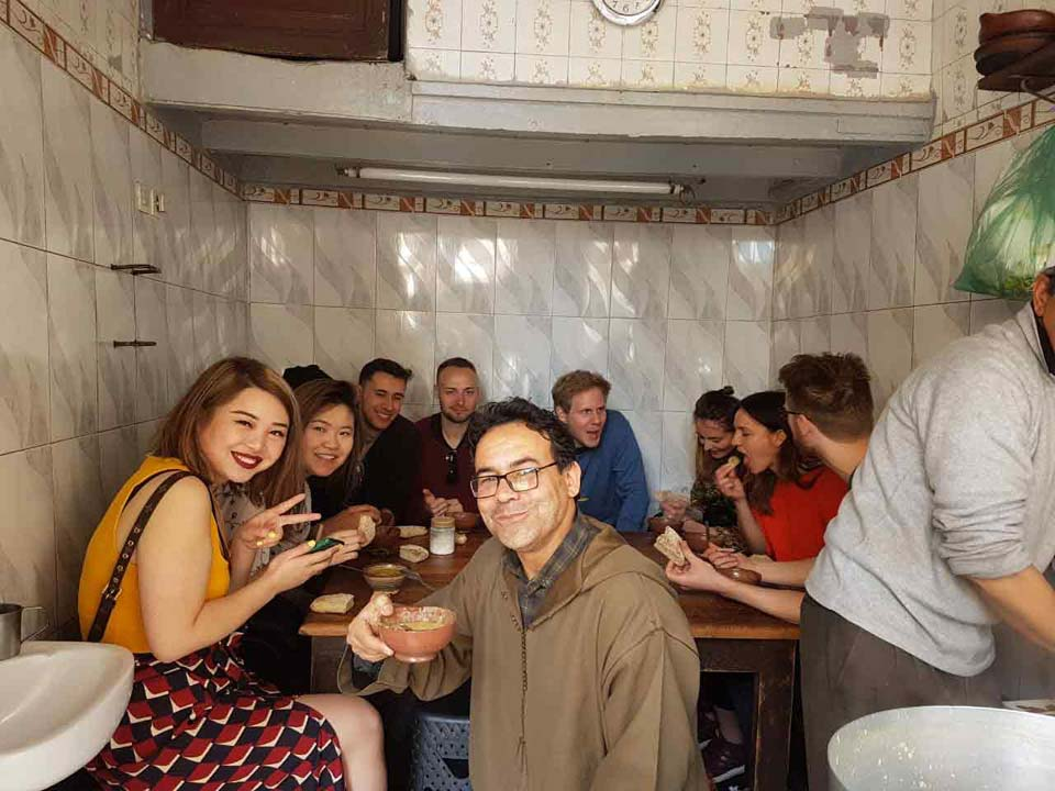 Fes tasting tour with a culinary expert