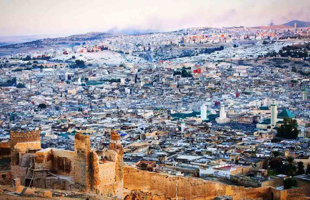 Fes panoramic view is one of top ten things to do in Fes